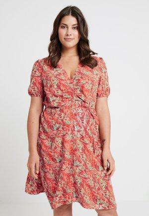 DRESS IN SWIRL PRINT - Day dress - multi