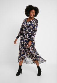 Lost Ink Plus - DRESS IN BUTTERFLY PRINT - Day dress - multi - 2