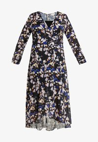 Lost Ink Plus - DRESS IN BUTTERFLY PRINT - Day dress - multi - 5