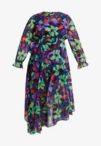 Lost Ink Plus - FLORAL DRESS - Maxiklänning - multi/black - 3