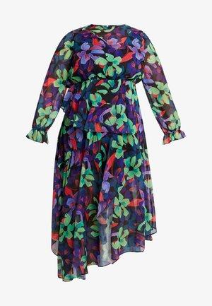 FLORAL DRESS - Maxi šaty - multi/black