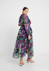 Lost Ink Plus - FLORAL DRESS - Maxiklänning - multi/black - 2