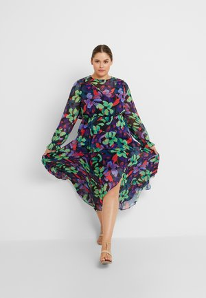 FLORAL DRESS - Vestito lungo - multi/black