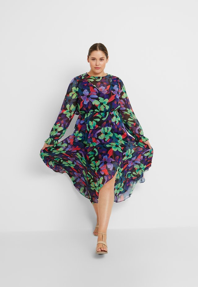 FLORAL DRESS - Maxikleid - multi/black