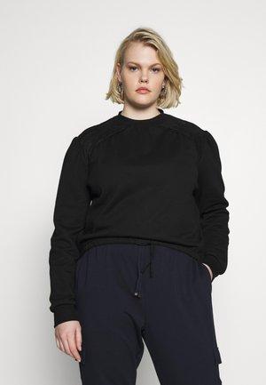 TIE WAIST DETAIL  - Sweatshirt - black