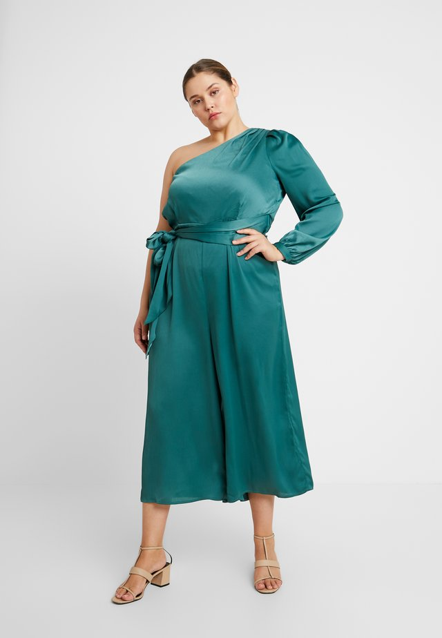 EXCLUSIVE ONE SHOULDER - Jumpsuit - green