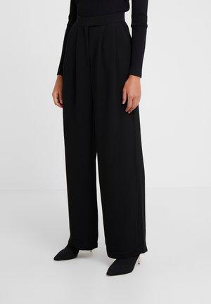LULAS - Spodnie materiałowe - black