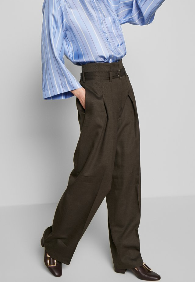 ROSALI - Trousers - brown