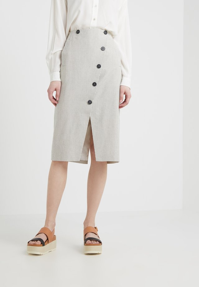 DYLON - Pencil skirt - tapioca