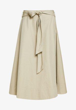 ARVOIS - Áčková sukně - sand