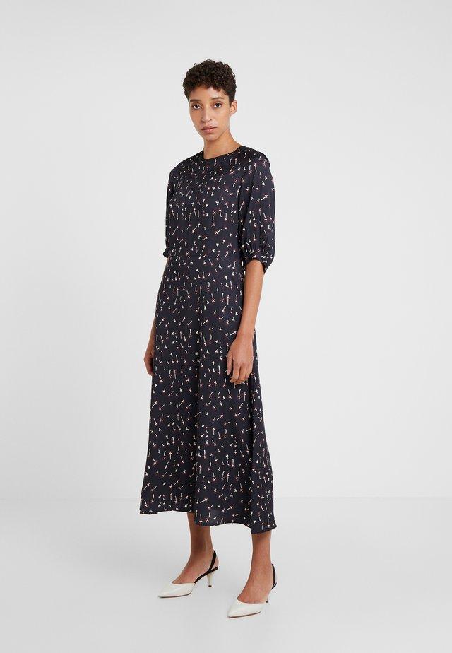 DAISY - Korte jurk - black