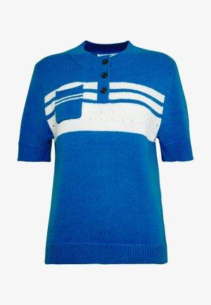 CLEMENTINE - T-shirt z nadrukiem - french blue