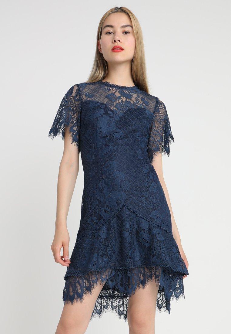 Love Triangle - GRETA TIERED DRESS - Cocktailkleid/festliches Kleid - ink