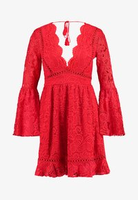 Love Triangle - QUEEN OF HEARTS DRESS - Cocktailjurk - red - 4