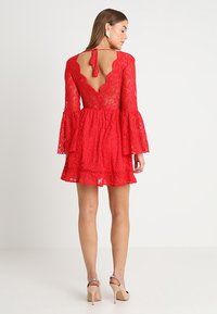 Love Triangle - QUEEN OF HEARTS DRESS - Cocktailjurk - red - 2