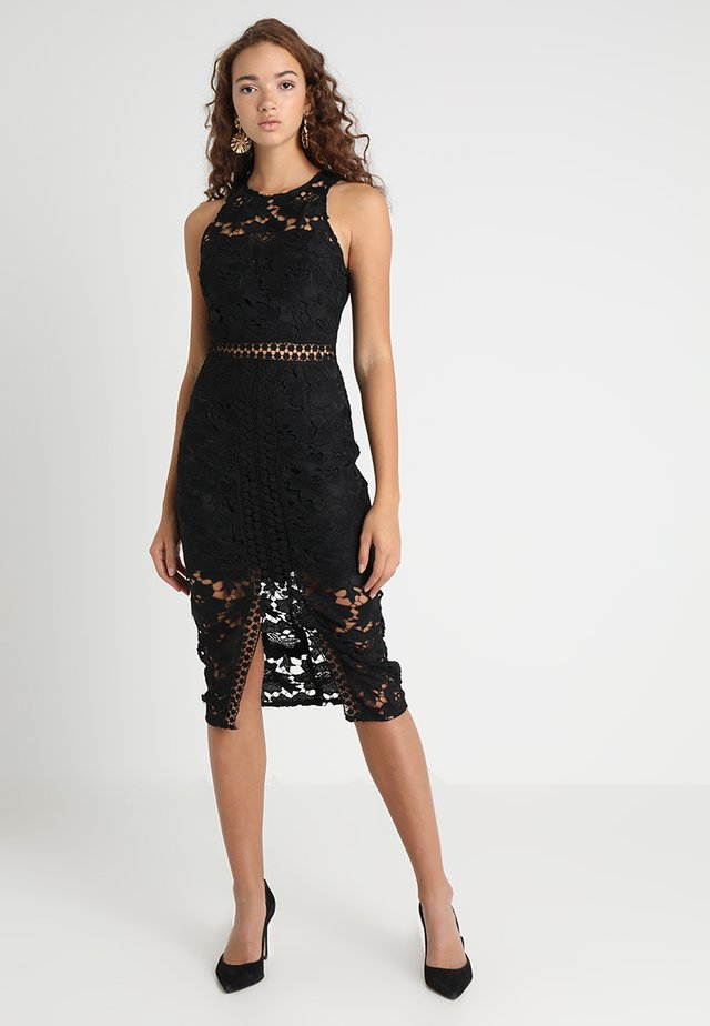 EDEN KNEE LENGTH DRESS - Cocktail dress / Party dress - black