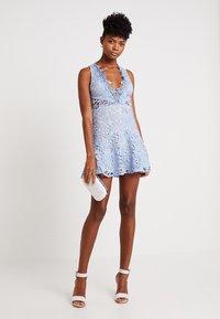 Love Triangle - DANUBE MINI DRESS - Cocktail dress / Party dress - blue - 1