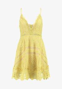 Love Triangle - BUTTERCUP DRESS - Sukienka koktajlowa - lemon - 5