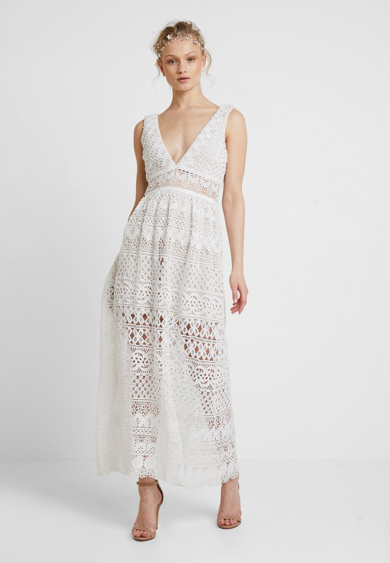 Love Triangle - ELINA MAXI DRESS - Occasion wear - white