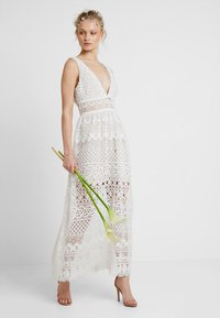 Love Triangle - ELINA MAXI DRESS - Occasion wear - white - 1