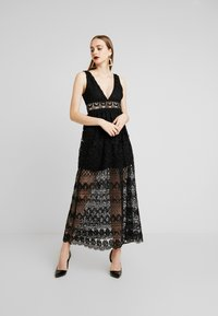 Love Triangle - ELINA MAXI DRESS - Suknia balowa - black - 2