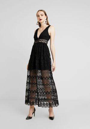 ELINA MAXI DRESS - Galajurk - black
