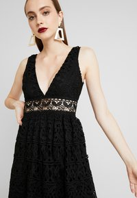 Love Triangle - ELINA MAXI DRESS - Occasion wear - black - 4
