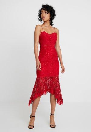 FRESH GARDEN MIDI DRESS - Cocktail dress / Party dress - shiraz