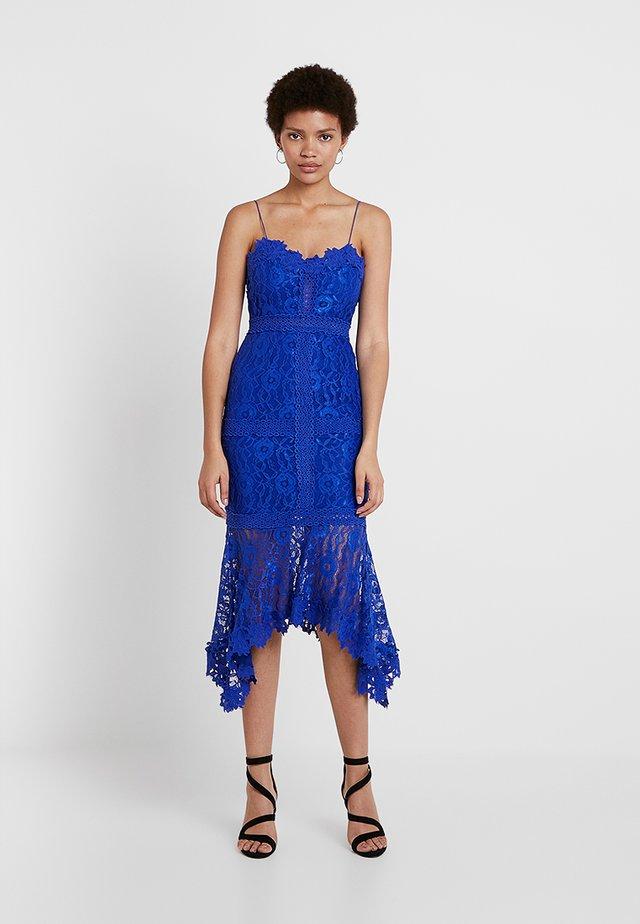 FRESH GARDEN DRESS - Robe de cocktail - blue