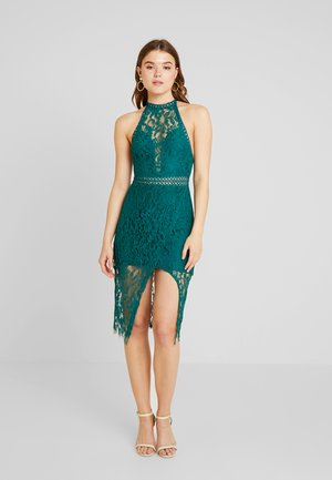 ENVY MIDI DRESS - Vestido de cóctel - green