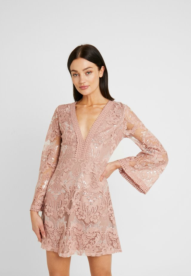 HIDDEN GEMS - Cocktail dress / Party dress - nude