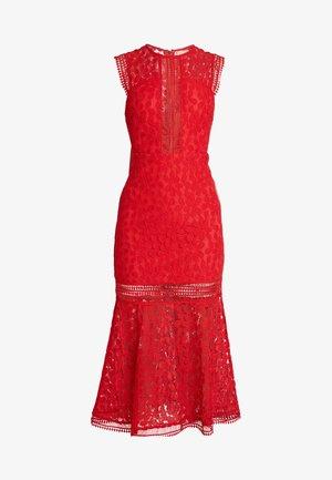 THE TANGO MIDAXI DRESS - Společenské šaty - red