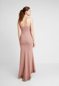 Love Triangle - GALA EVENT MAXI DRESS - Occasion wear - nude - 3