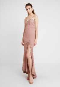 Love Triangle - GALA EVENT MAXI DRESS - Occasion wear - nude - 4