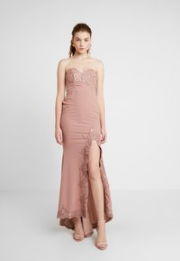 Love Triangle - GALA EVENT MAXI DRESS - Occasion wear - nude - 0