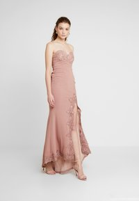Love Triangle - GALA EVENT MAXI DRESS - Occasion wear - nude