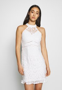 Love Triangle - LAETITIA DRESS - Cocktail dress / Party dress - white - 0