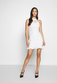 Love Triangle - LAETITIA DRESS - Cocktail dress / Party dress - white - 1