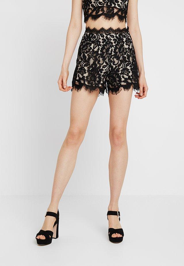 DARK SECRETS - Shorts - black