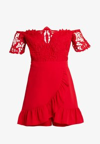 Love Triangle - PLAYSUIT - Jumpsuit - red - 4