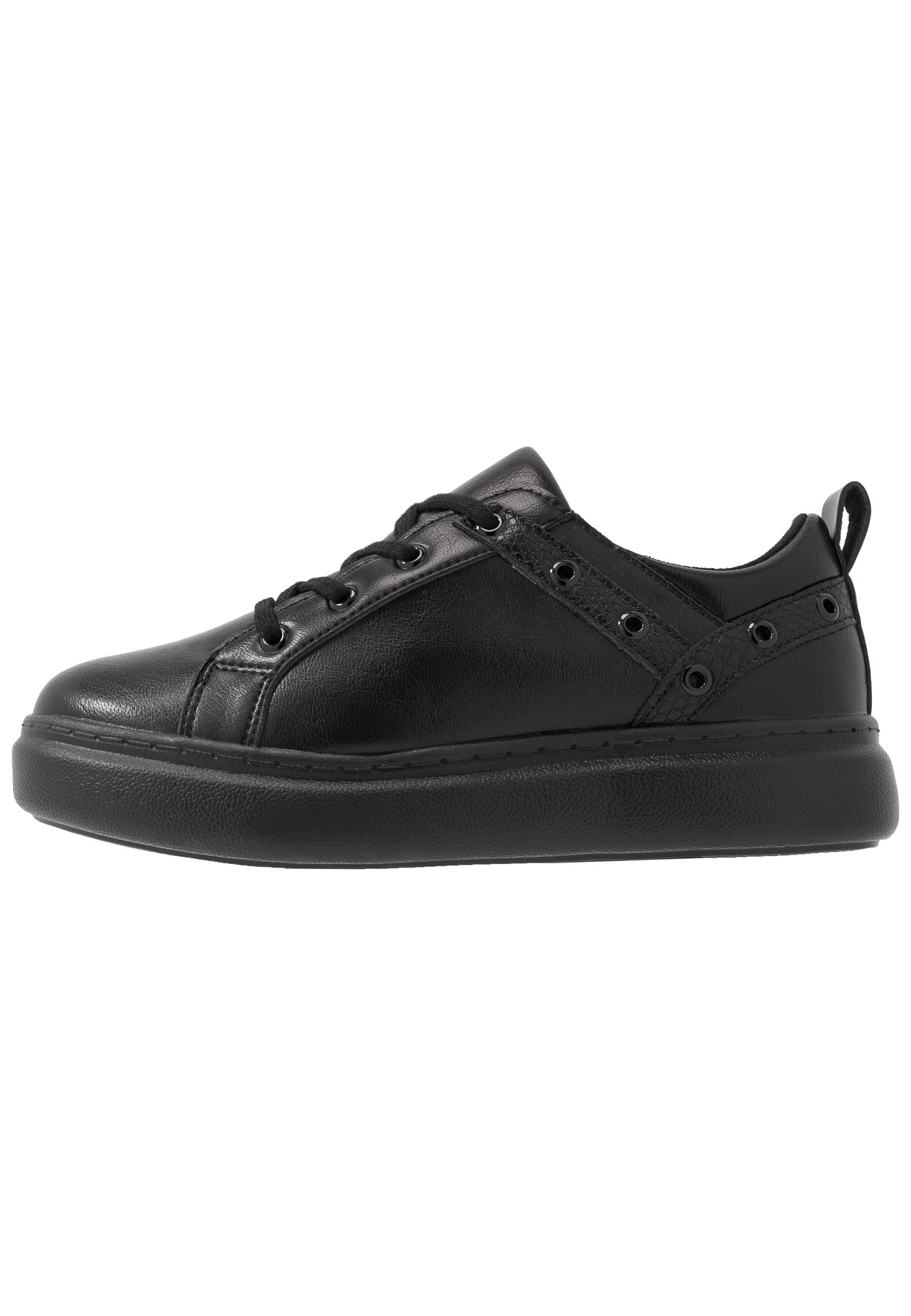 Lost Ink Wide Fit Eyelet Lace Up Trainer - Sneakers Basse Black 4pbpL