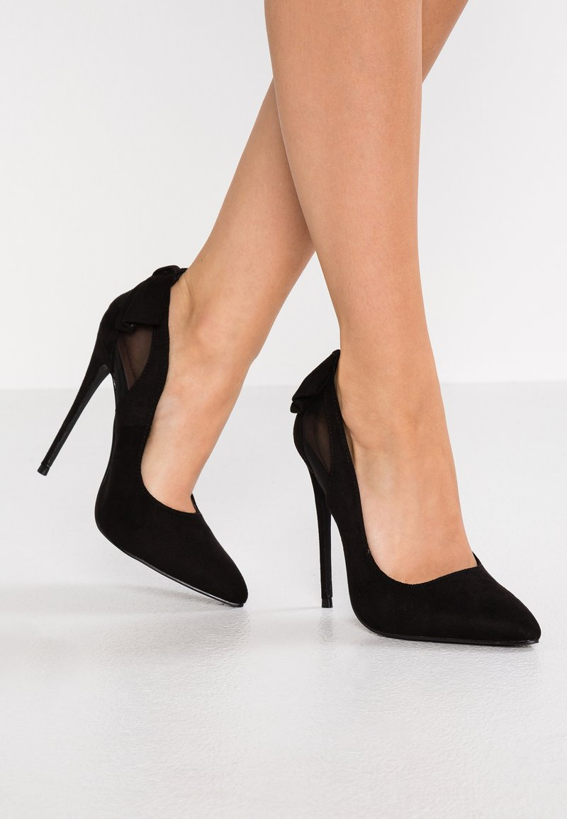 Lost Ink Wide Fit - WIDE FIT AUGUST PANEL COURT - High heels - black