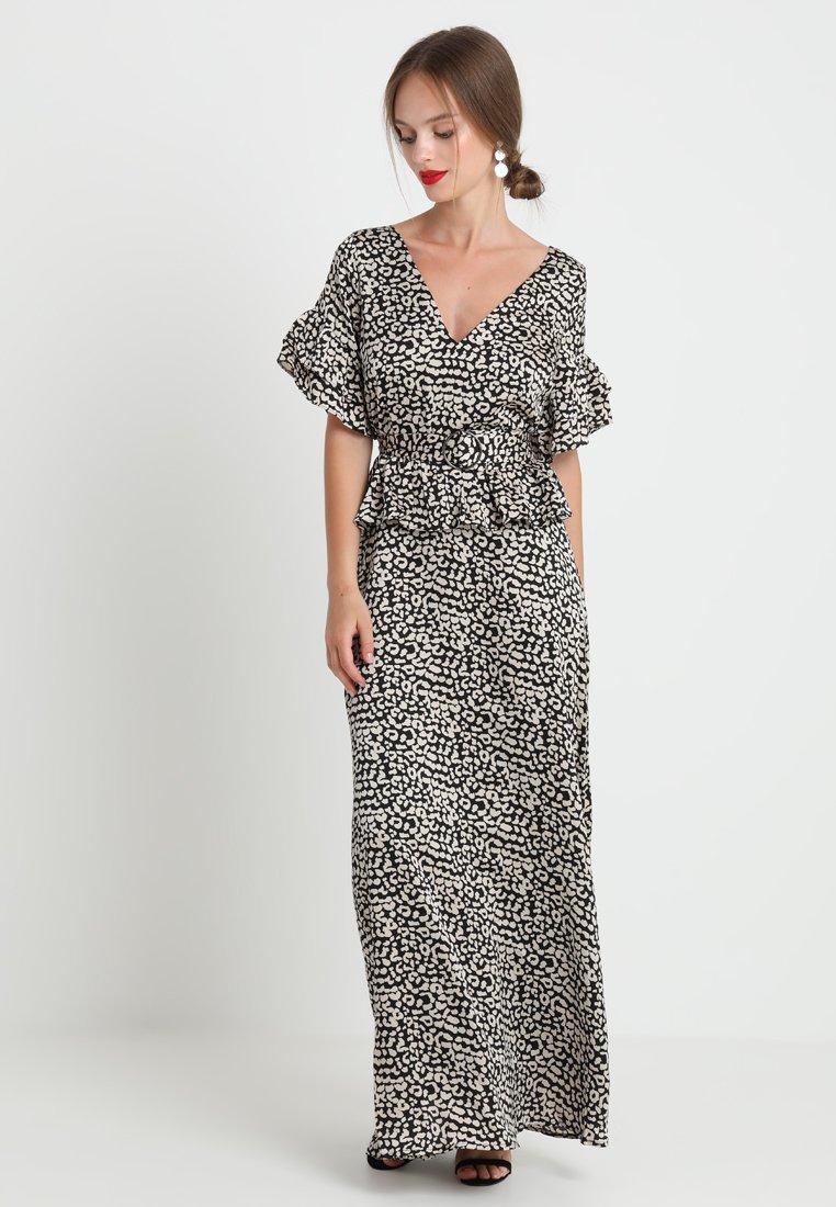 Lost Ink Petite - PRINTED DRESS WITH BELT - Maksimekko - multi-coloured