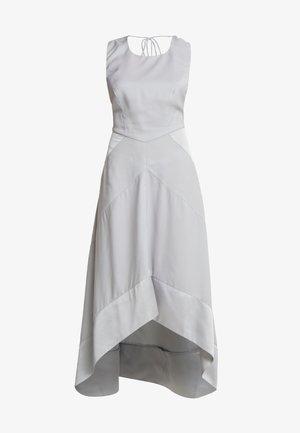 HALTER NECK DRESS - Společenské šaty - light grey