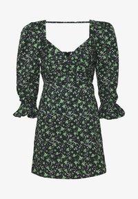 Lost Ink Petite - PLEATED MINI DRESS - Denní šaty - multi - 5