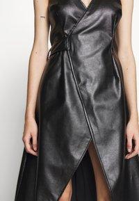 Lost Ink Petite - WRAP DRESS - Vestido informal - black - 3
