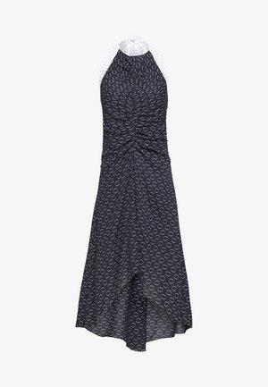 HALTER NECK PRINT  - Korte jurk - multiprint black