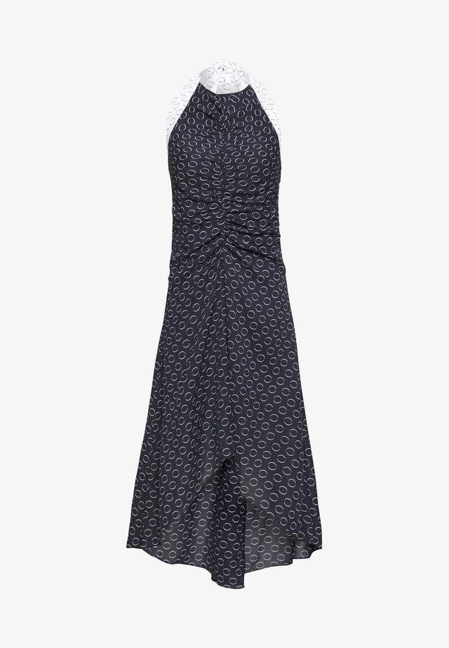HALTER NECK PRINT  - Vestido informal - multiprint black