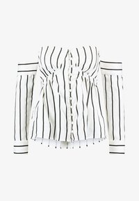 Lost Ink Petite - BARDOT IN STRIPED - Pusero - off white - 3