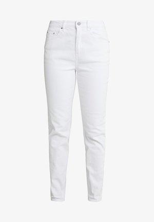 HIGH RISE  - Jeans Skinny Fit - white denim